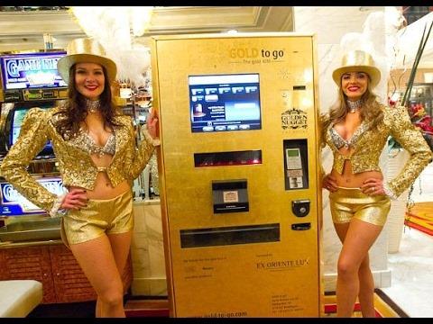 ATM rút vàng ở Dubai