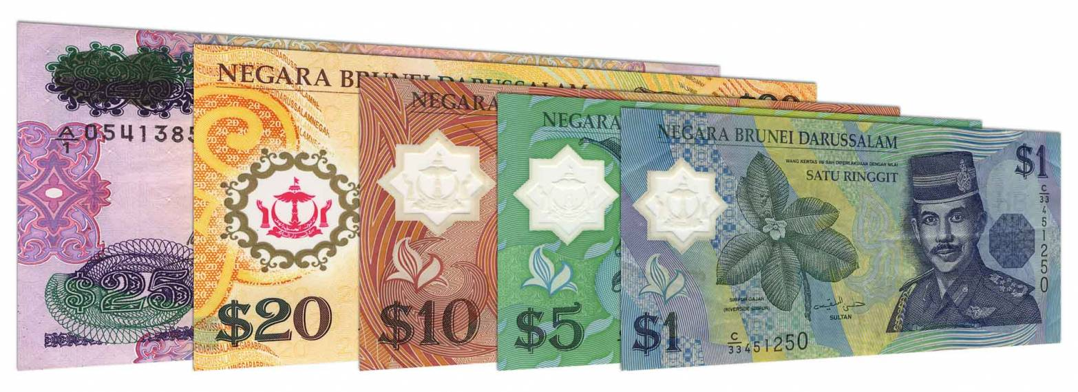 Tiền Brunei (Ringgit)