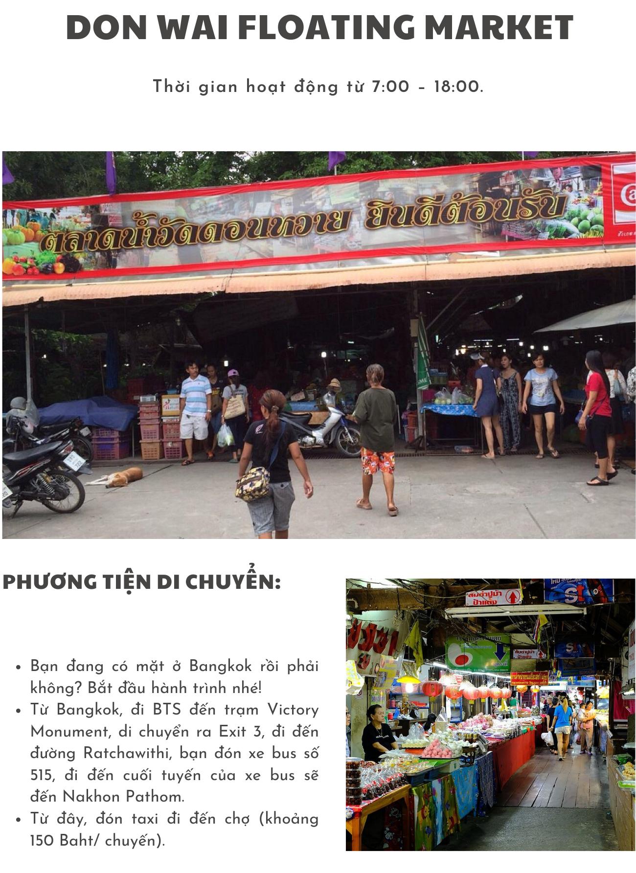 Chợ nổi Don Wai