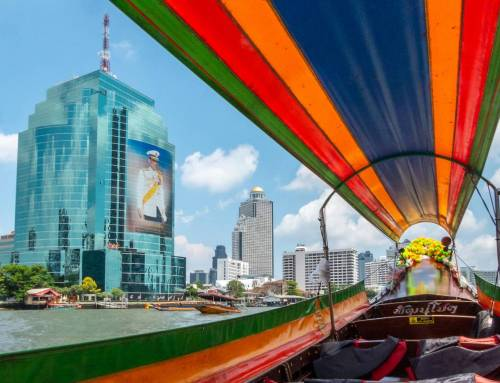 Phương tiện di chuyển ở Bangkok, Thái Lan.