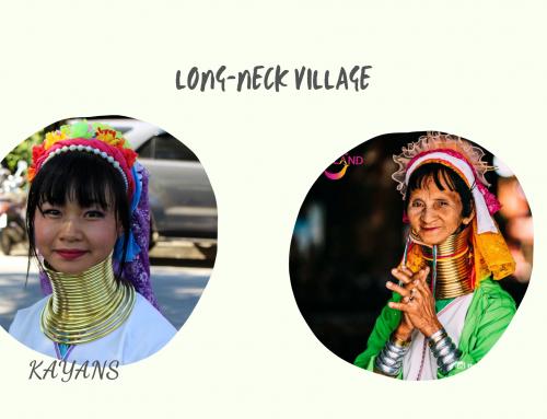 Làng dân tộc cổ dài Karen ở Thái Lan.